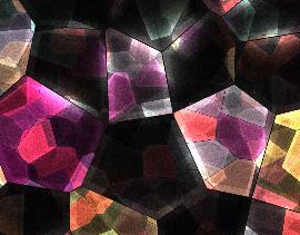 多边形晶格化背景